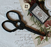Vineyard Scissors - Primitive Black