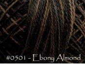 Ebony Almond Pearl Cotton