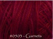 Garnets Pearl Cotton