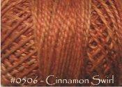 Cinnamon Swirl Pearl Cotton