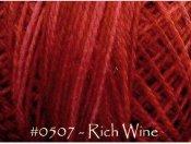 Rich Wine Pearl Cotton