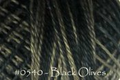Black Olives Pearl Cotton