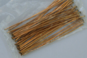 "2"" Headpins - Gold"