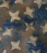 Blue/Khaki Star Calico - Gettysburg