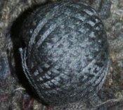 Black Medium 3 Strand Floss