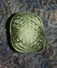 Olive Green Dark 3 Strand Floss