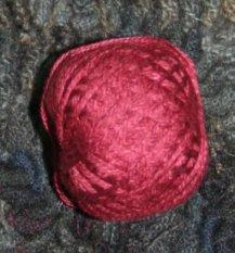 Old Rose Dark 3 Strand Floss