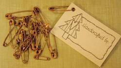 Primitive Rusty Safety Pins