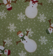 Snowman Flannel