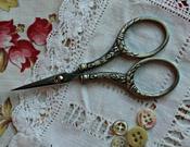 Silver Round Handle Scissors