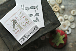 Book of Needles -  ABC Crow Sampler, size 28