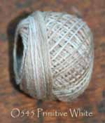 Primitive White 3 Strand Floss