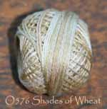 Shades of Wheat 3 Strand Floss