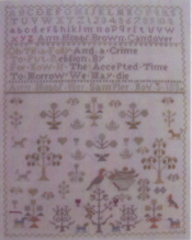 Antique Spring Sampler