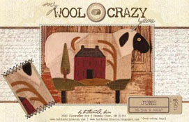 My Wool Crazy Years - June