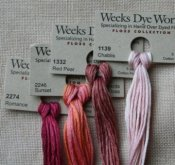 Weeks Dye Works Floss - 5 yds./2.00