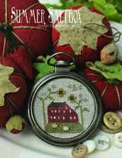 Summer Saltbox Pattern/Pocket Watch Frame Kit