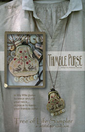 Tree of Life Sampler Thimble Purse