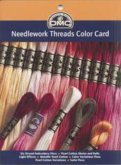 DMC Thread Color Card