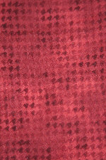 Red Woolies Flannel Houndstooth