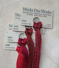 Weeks Dye Works Floss - 5 yds./2.00