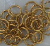 Large Jump Rings - Gold
