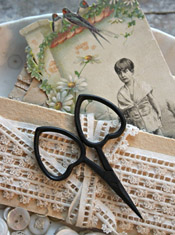 Little Love Scissors - Primitive Black