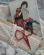 Little Love Scissors - Red