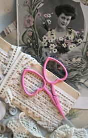Little Love Scissors - Fuscia