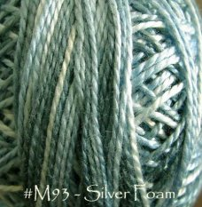 Silver Foam Pearl Cotton