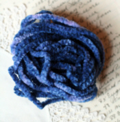 Nautical Blue Chenille