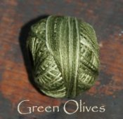 Green Olives 3 Strand Floss