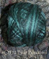 Blue Blackbird 3 Strand Floss