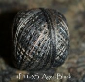 Aged Black 3 Strand Floss