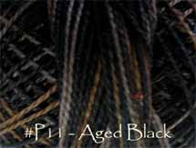Aged Black Pearl Cotton