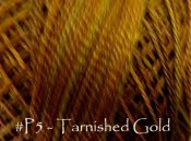 Tarnished Gold Pearl Cotton