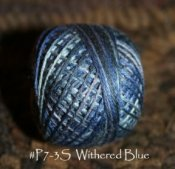 Withered Blue 3 Strand Floss