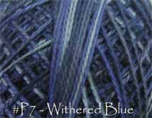 Withered Blue Pearl Cotton