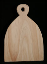 Peace on Earth Wooden Paddle