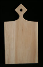 Dancin' with the Stars Wooden Paddle