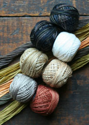 Pocketful of Autumn Floss Kit