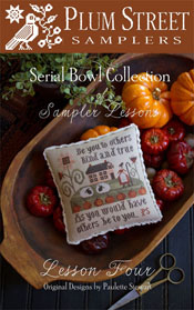 Lesson Four of Sampler Lessons - Serial Bowl Collection