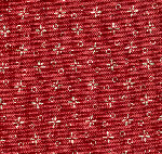 Red Cross/Dots Reproduction Fabric