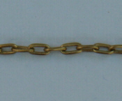 Small Fine Cable Chain - Gold