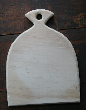 Labor of Love Wooden Paddle