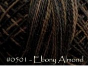 Ebony Almond Pearl Cotton