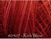 Rich Wine Pearl Cotton