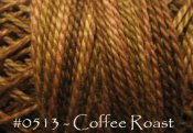Coffee Roast Pearl Cotton