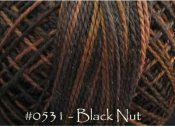 Black Nut Pearl Cotton