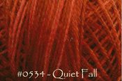Quiet Fall Pearl Cotton